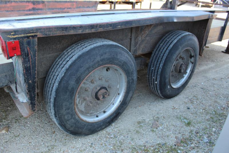 1989 Belshe 20' gooseneck Equipment Trailer