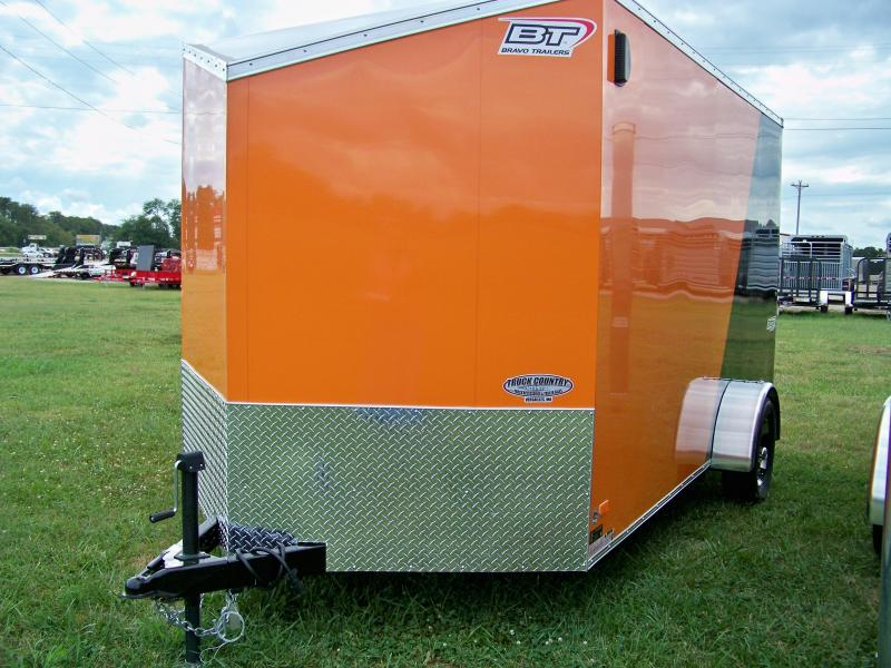 2018 Bravo Trailers 7x12 scout Enclosed Cargo Trailer