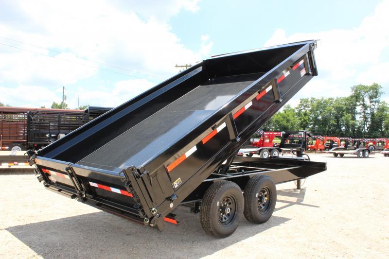 2020 MAXXD D9X 14' deckover Dump Trailer