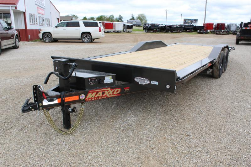 2019 MAXXD T6X 24 tilt Equipment Trailer