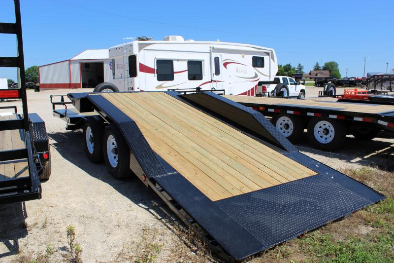 2019 PJ Trailers TS 22' tilt Equipment Trailer