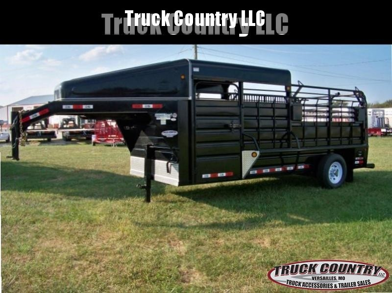 2017 GR Trailers 6.8'x16' half-top Livestock Trailer in Ashburn, VA