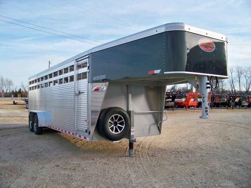 2018 Sundowner Trailers 6.9'x24' Rancher Express Livestock Trailer