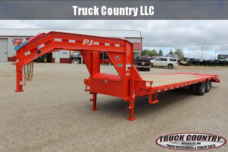 2020 PJ Trailers LD 30 gooseneck Flatbed Trailer in Ashburn, VA