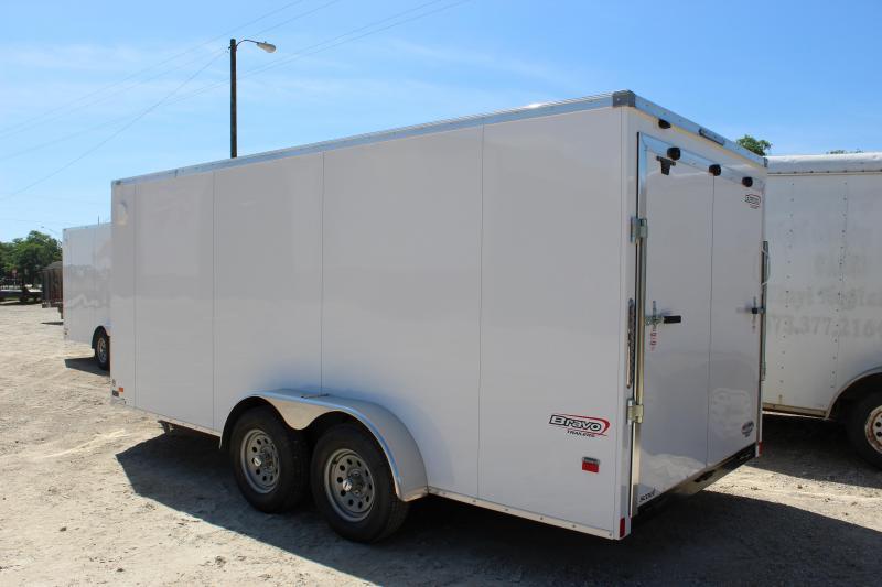 2019 Bravo Trailers 7x16 scout Enclosed Cargo Trailer