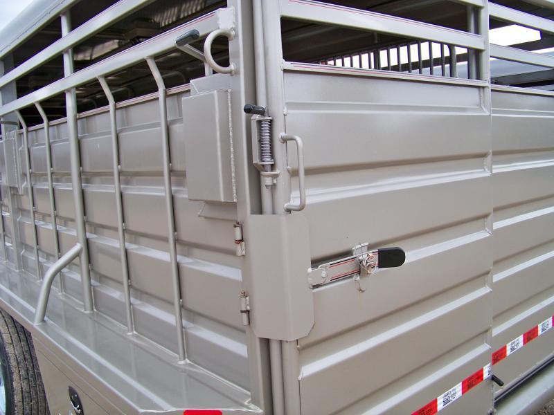 2018 GR Trailers 6.8'x24' GN Livestock Trailer