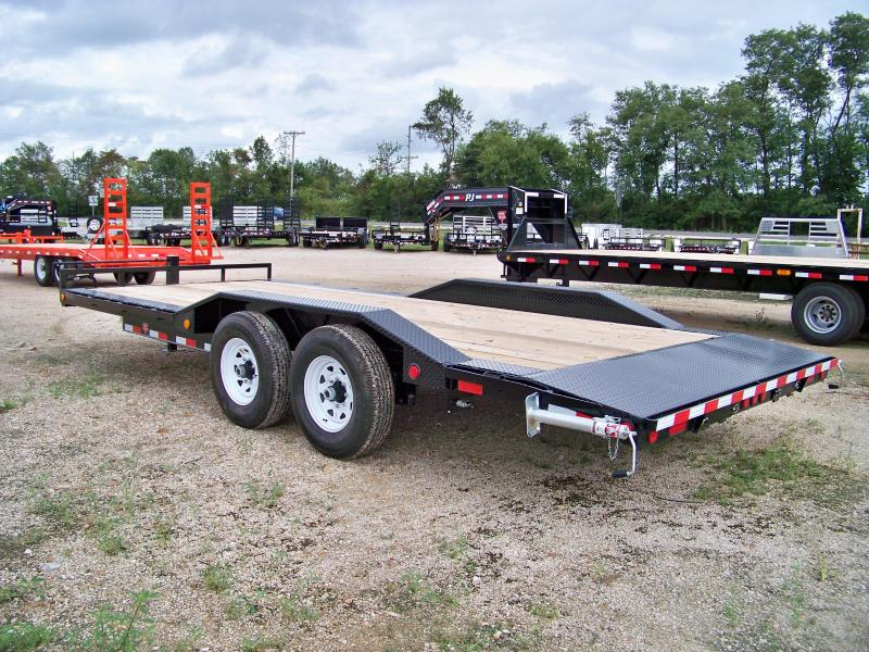 2018 PJ Trailers B6 20' superwide Equipment Trailer