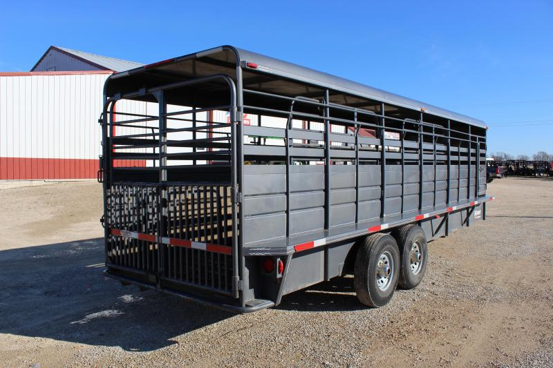 2016 W-W  6'x24' gooseneck Livestock Trailer