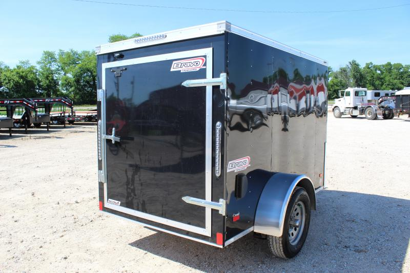 2019 Bravo Trailers 5x8 scout Enclosed Cargo Trailer