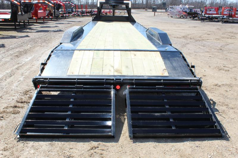 2019 PJ Trailers H7 30' gooseneck Equipment Trailer