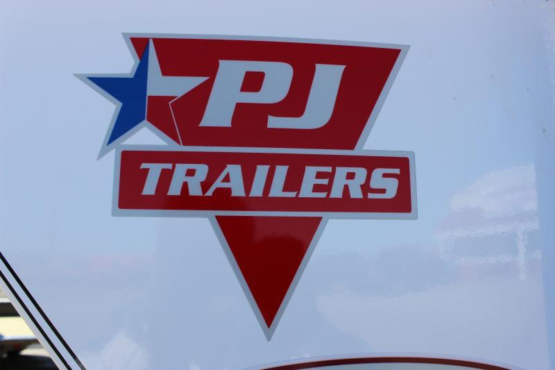 2019 PJ Trailers LD 30' lo-pro gooseneck Flatbed Trailer