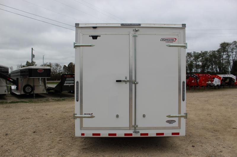 2019 Bravo scout 7'x16' Enclosed Cargo Trailer