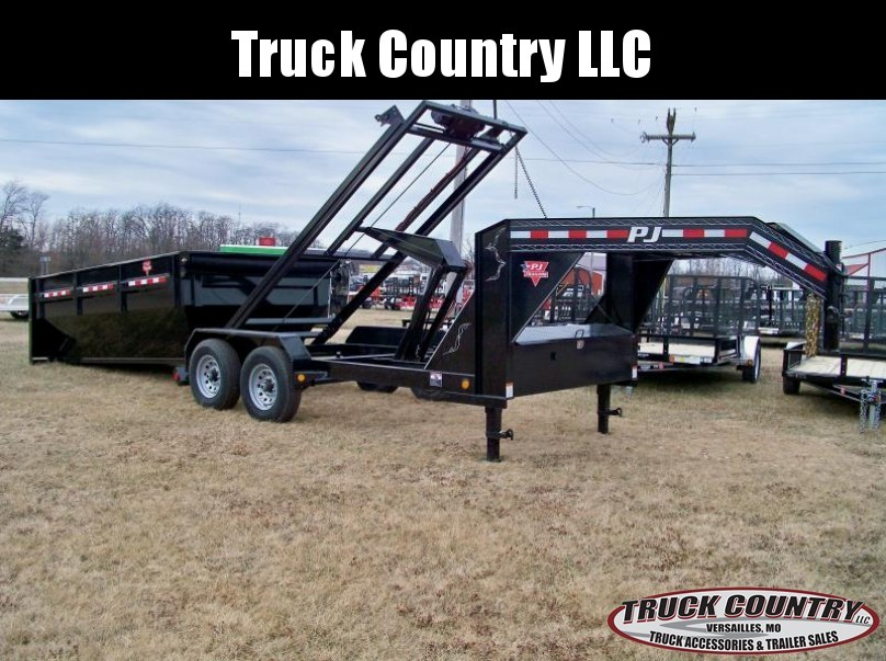 2017 PJ Trailers DR 14' GN Roll-Off Dump Trailer
