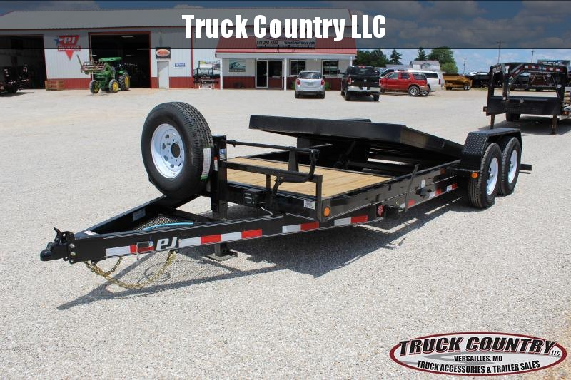2020 PJ Trailers T6 20' tilt Equipment Trailer