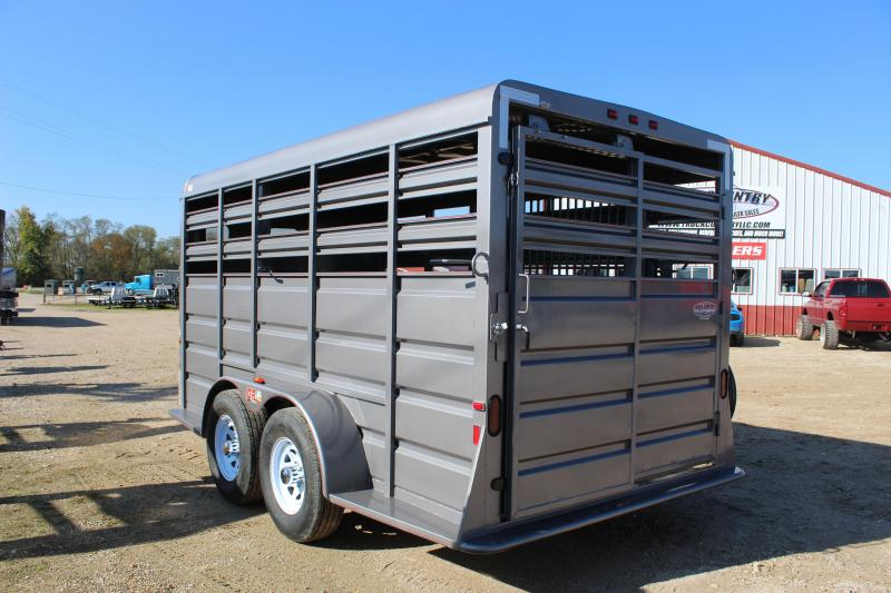 2018 GR Trailers 6.8x16 Livestock Trailer