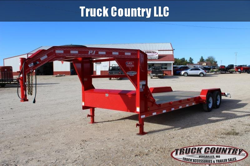 2019 PJ Trailers CE 20' gooseneck Car / Racing Trailer