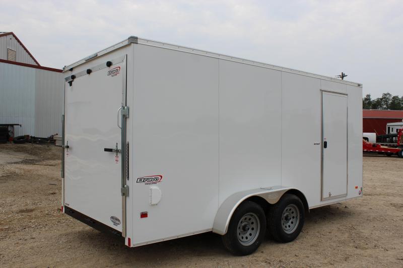 2019 PJ Trailers 7x16 scout Enclosed Cargo Trailer