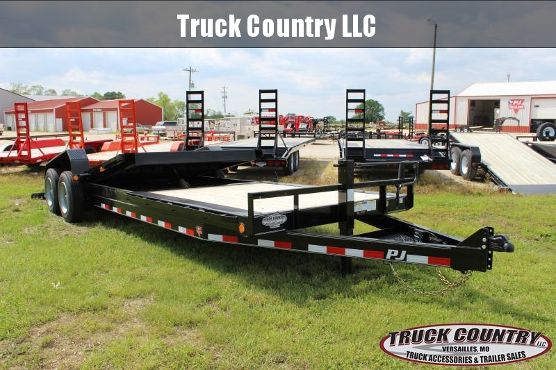 2019 PJ Trailers TJ 24 tilt Equipment Trailer