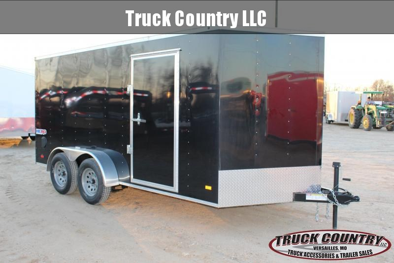 2019 Bravo Trailers 7x14 Hero Enclosed Cargo Trailer