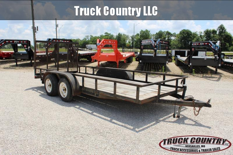 2006 Other 77x16 Branson Utility Trailer