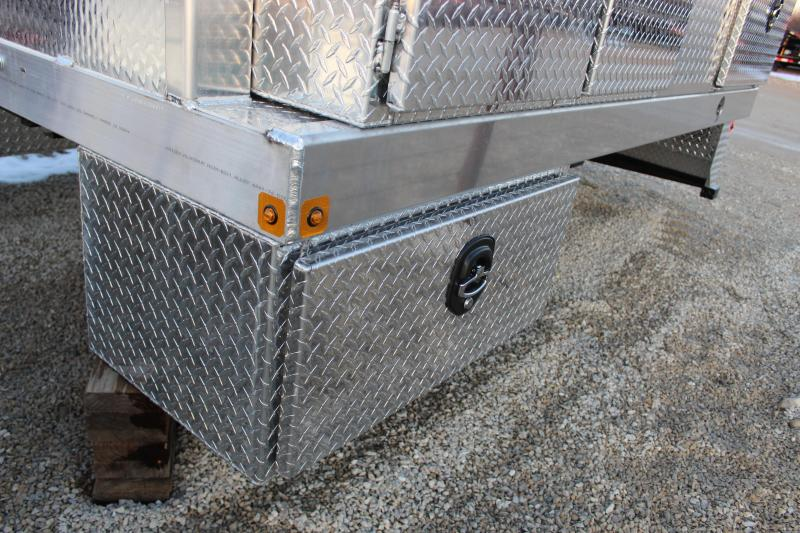 Zimmerman Contractor series aluminum Truck Bed