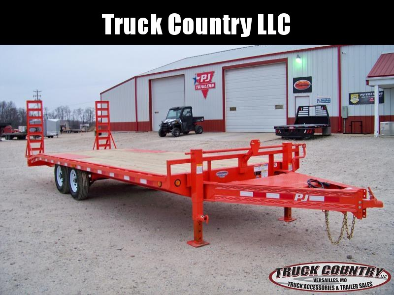 2018 PJ Trailers F8 22' orange Equipment Trailer