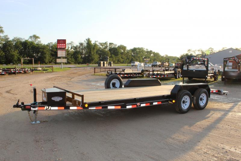 2018 PJ Trailers CE 20' Equipment/carhauler Trailer
