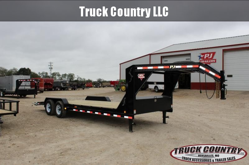 2019 PJ Trailers CE 22' gooseneck Car / Racing Trailer
