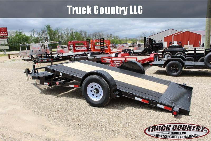 2020 PJ Trailers T1 16 tilt Equipment Trailer