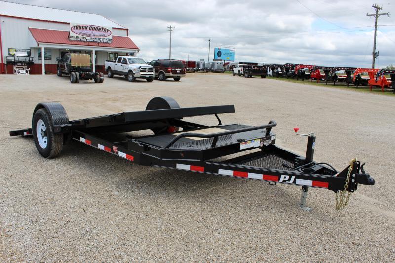2020 PJ Trailers T1 16 tilt Equipment Trailer