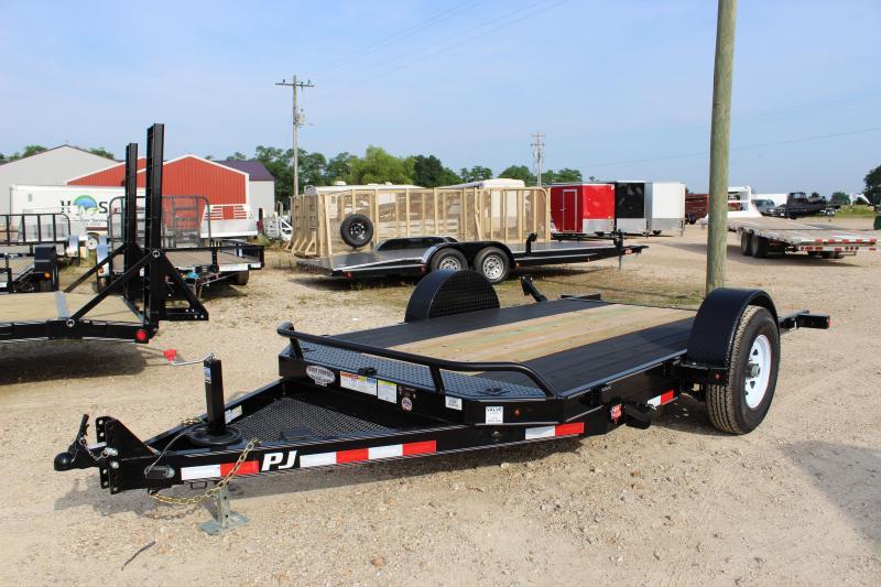 2019 PJ Trailers T1 13' tilt Equipment Trailer