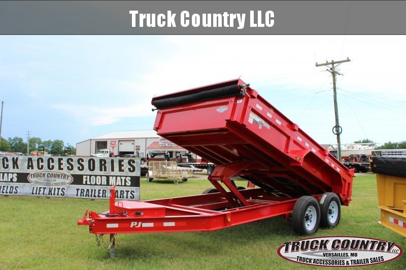 2019 PJ Trailers DL Lo-Pro 14' dump Dump Trailer in Bourbon, MO