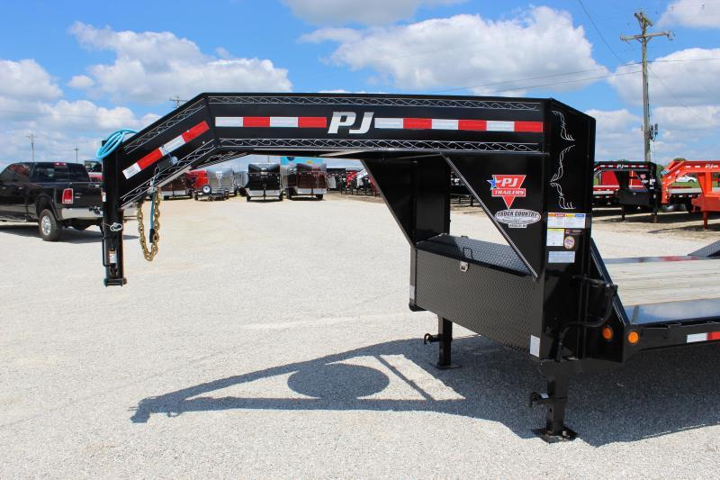 2020 PJ Trailers H7 24' gooseneck Equipment Trailer
