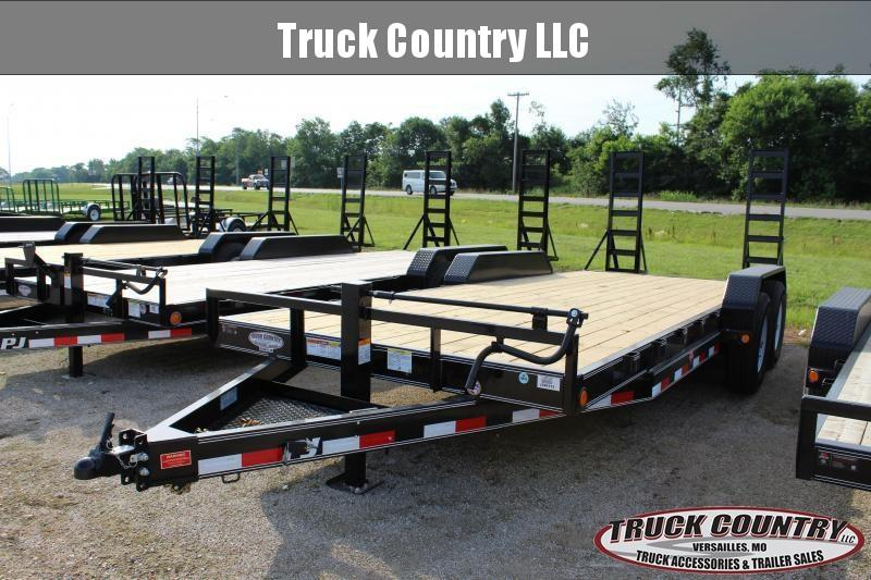 2019 PJ Trailers CC 20' Equipment Trailer