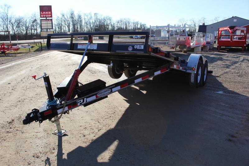 2019 PJ Trailers TH 20' quick tilt Carhauler Trailer