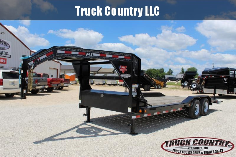 2020 PJ Trailers B5 20' gooseneck superwide Car / Racing Trailer