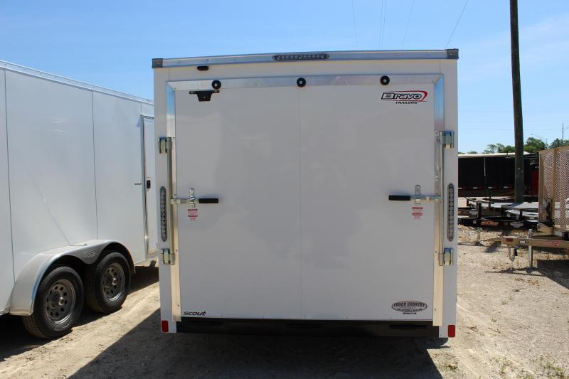 2019 Bravo Trailers 7'x14' scout Enclosed Cargo Trailer
