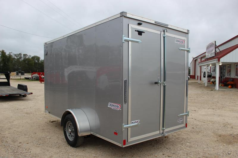 2019 Bravo Trailers scout 6'x12' Enclosed Cargo Trailer