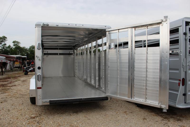 2019 Sundowner Trailers 6.9'x20' Rancher Express Livestock Trailer