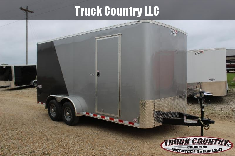 Cargo Trailer Accessories >> 2019 Bravo Trailers Scout 7x16 Enclosed Cargo Trailer Trailer