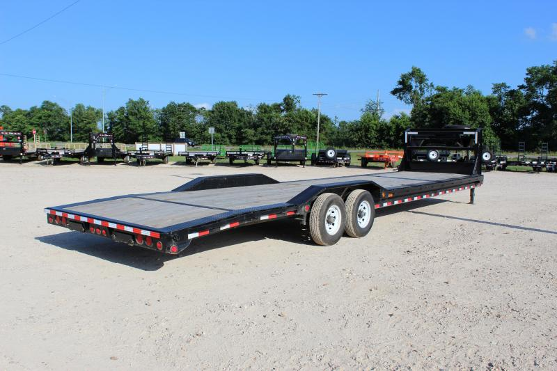2018 PJ Trailers B8 35 gooseneck superwide Car / Racing Trailer