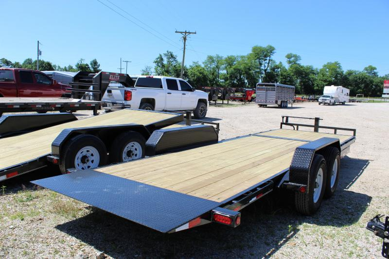 2019 PJ Trailers T6 22' tilt Equipment Trailer