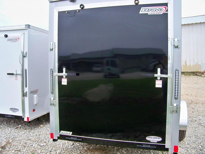 2018 Bravo Trailers 6'x12' scout Enclosed Cargo Trailer