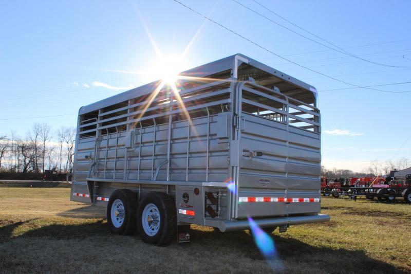 2019 GR Trailers 6.8x16 Livestock Trailer