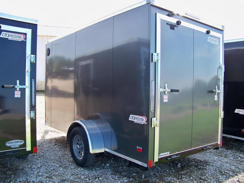2018 Bravo Trailers 6x12 scout Enclosed Cargo Trailer