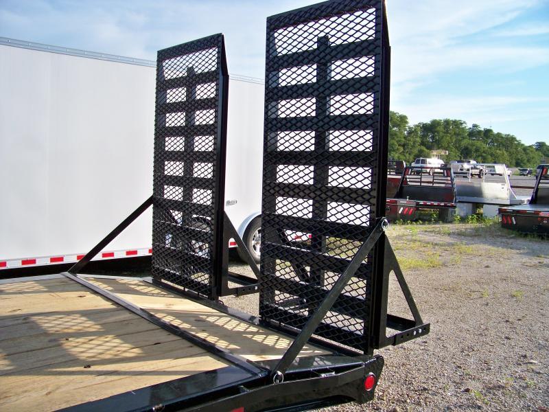 2018 PJ Trailers H4 20' 2-8K axles Equipment Trailer