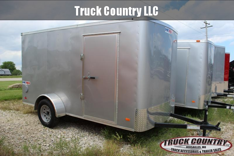 Cargo Trailer Accessories >> 2020 Bravo Trailers 6x12 Hero Enclosed Cargo Trailer Trailer