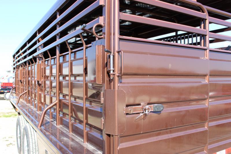 2018 GR Trailers 6.8x24 Livestock Trailer