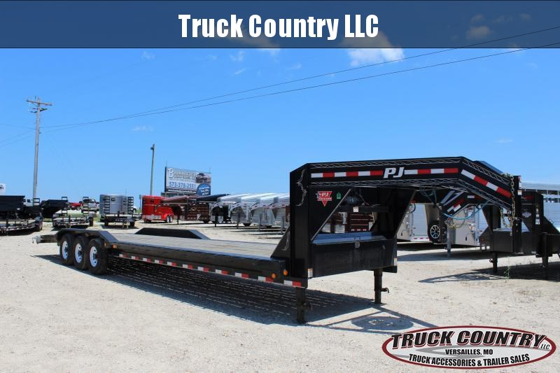 2018 PJ Trailers B8 34' gooseneck superwide Equipment Trailer