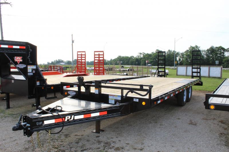 2019 PJ Trailers F8' 22 Deckover Equipment Trailer